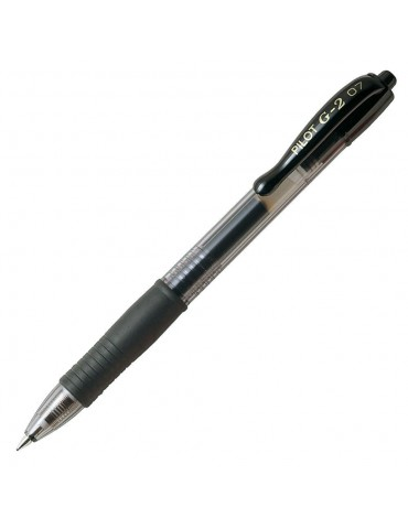 Bolígrafo pilot G2 Negro 0.4mm