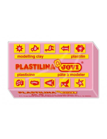 Plastilina Jovi color rosa...