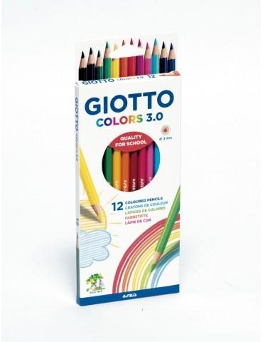 Lapices de colores intensos...