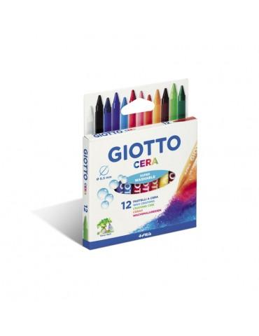 Lapices cera Giotto caja de...