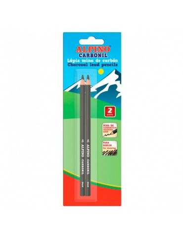 Lapices Carbonil Alpino x2