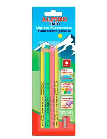 Alpino - blister 6 lápices...