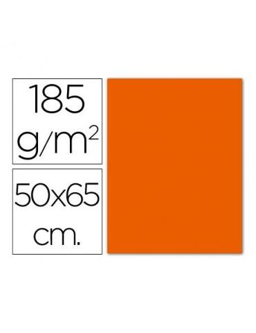 Cartulina Gvarro naranja...