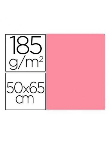 Cartulina Gvarro rosa 50x65...