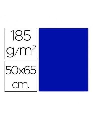 Cartulina Gvarro azul...