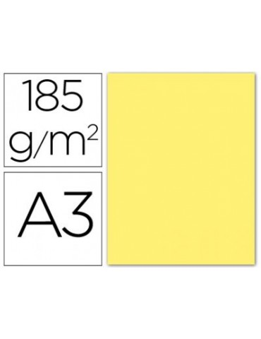 Cartulina Gvarro amarillo...