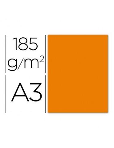Cartulina Gvarro naranja A3...