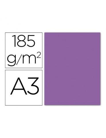 Cartulina Gvarro violeta A3...