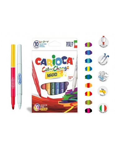 Carioca - 6 rotuladores...