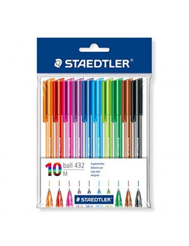 Bolígrafos Staedtler Pack...