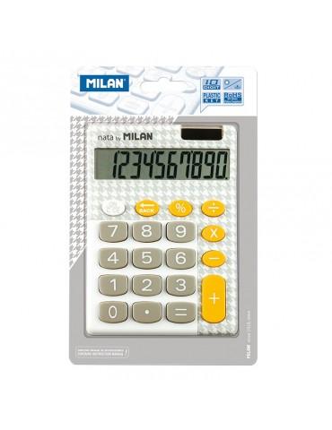 Blíster calculadora gris y...