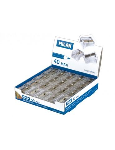 Caja 40 sacapuntas plástico...