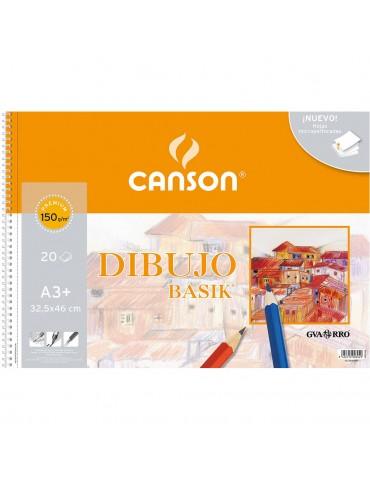 Bloc dibujo Canson Basik A3...