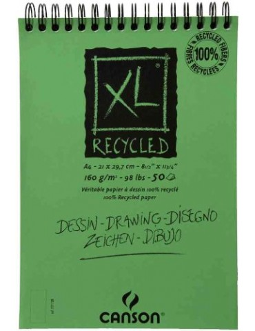CANSON Recycled - Bloc para...