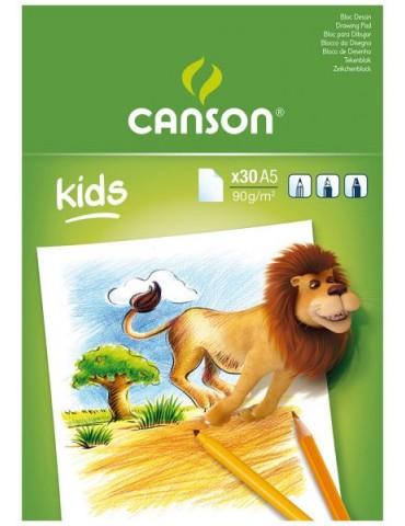 Bloc Dibujo Canson DIN A5...