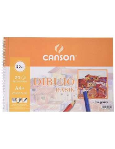 Bloc Dibujo Canson A4, 20...
