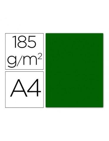 Cartulina verde billar...