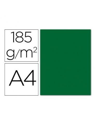 Cartulina verde abeto...