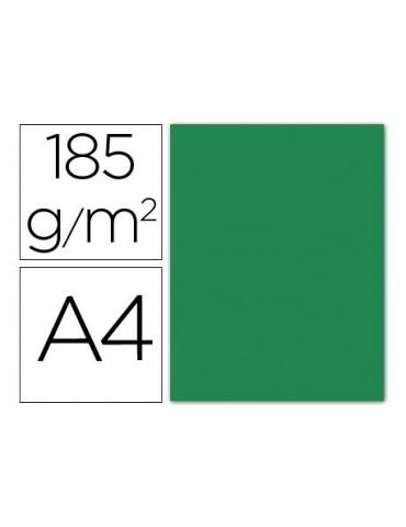 Cartulina verde amazona...