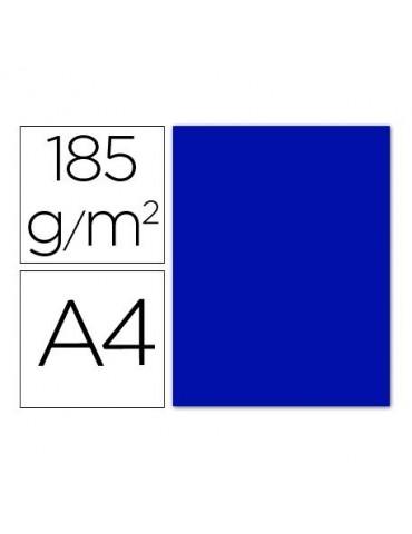 Cartulina azul ultramar...
